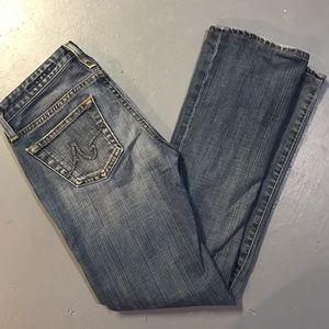 AG The Kiss Jeans medium wash Slim Straight